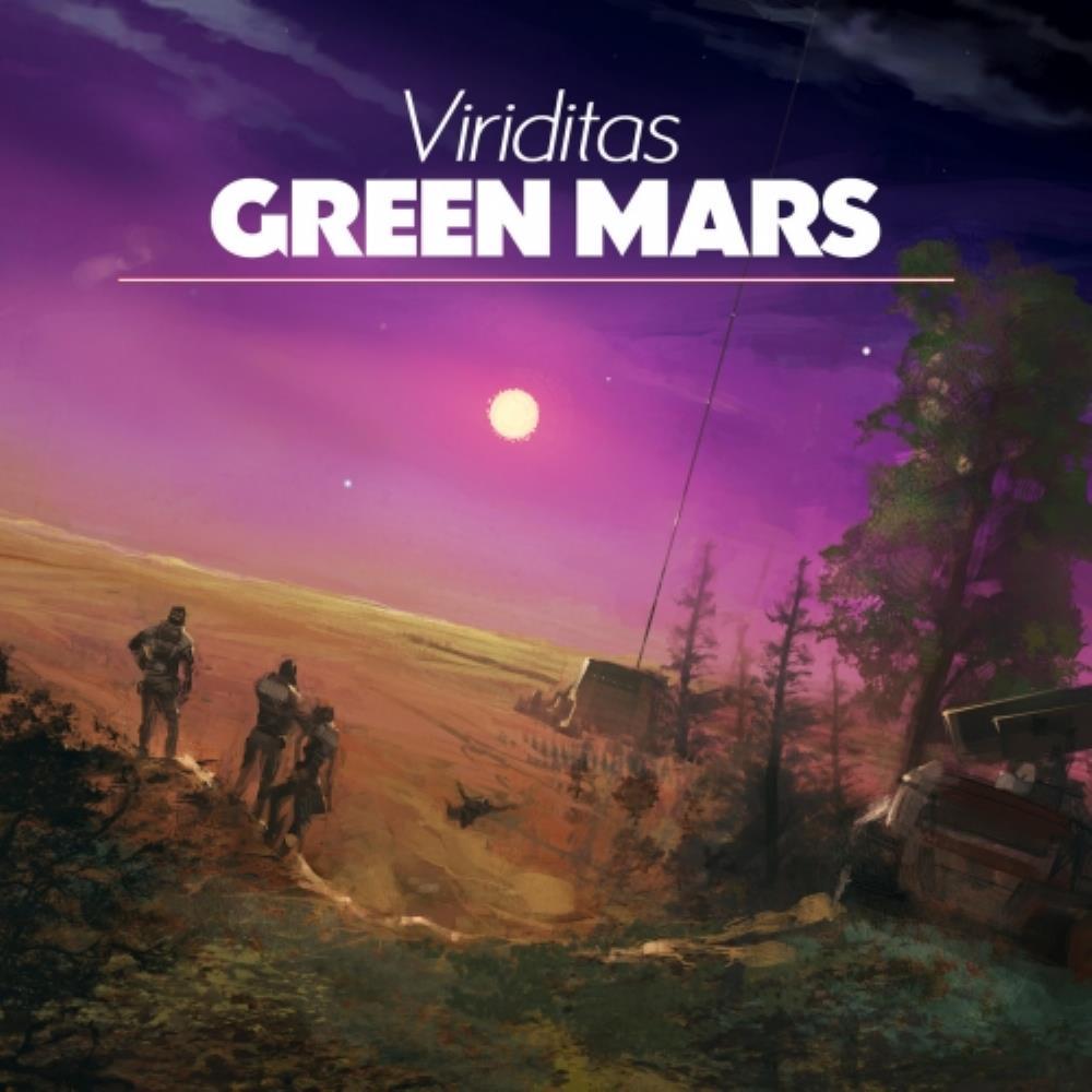 Green Mars by Viriditas album rcover