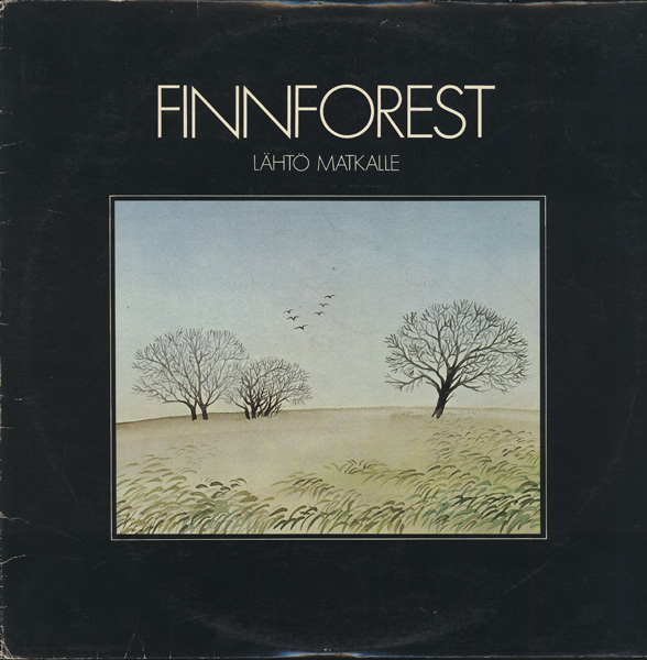 Finnforest - L�ht� Matkalle CD (album) cover