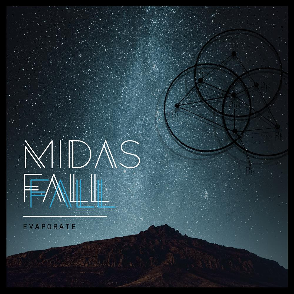 Evaporate by MIDAS FALL album cover