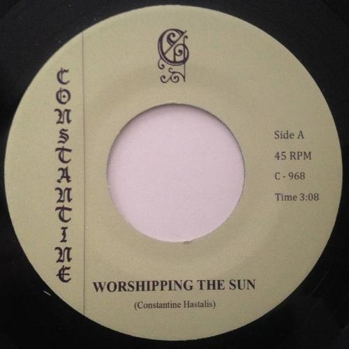 Constantine Worshipping the Sun album cover