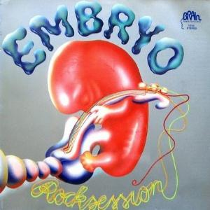 Embryo - Rocksession  CD (album) cover