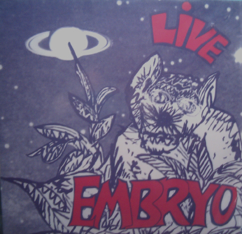 Embryo Live Embryo album cover