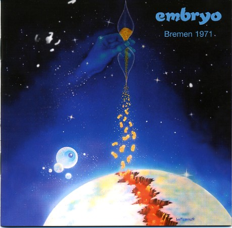Embryo Bremen 1971 album cover