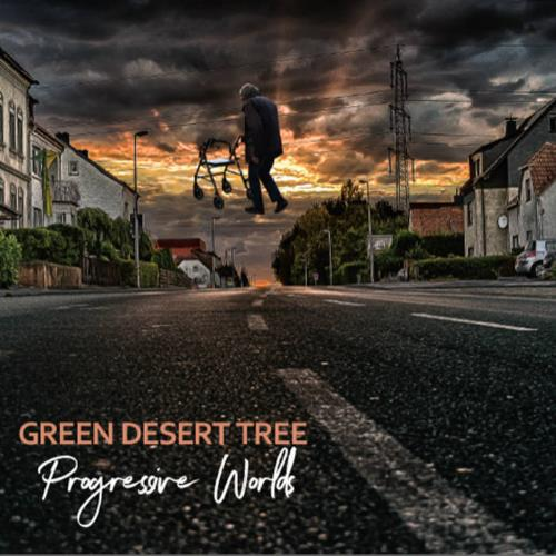 Progressive Worlds by GREEN DESERT TREE album cover