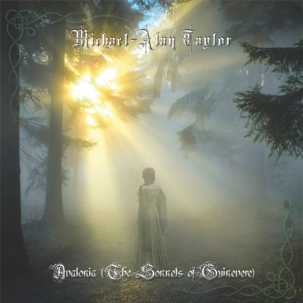 Avalonia (The Sonnets of Guinevere) by TAYLOR, MICHAEL-ALAN album cover