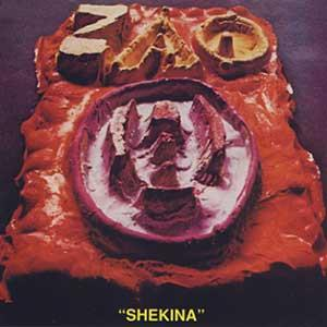 Zao - Shekina CD (album) cover