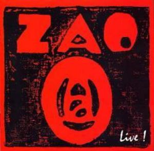 Zao - Zao - Live! CD (album) cover