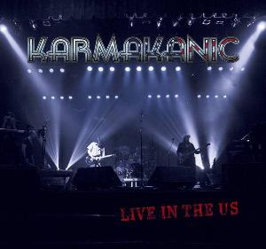 Karmakanic Live in the US album cover