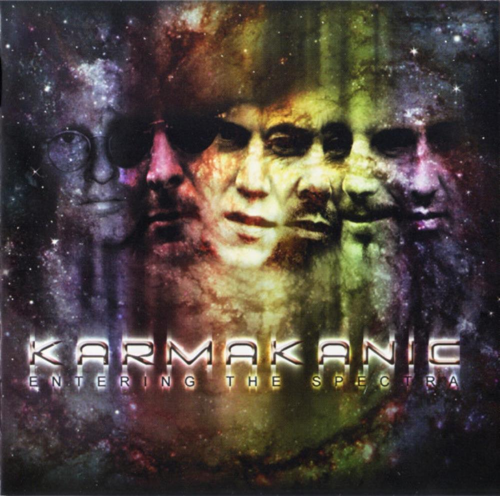 Karmakanic - Entering The Spectra CD (album) cover