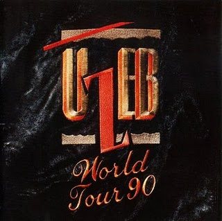 World Tour 90 by UZEB album cover