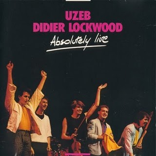 Uzeb Uzeb / Didier Lockwood - Absolutely Live album cover