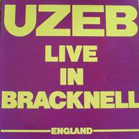 Uzeb - Uzeb - Live in Bracknell CD (album) cover