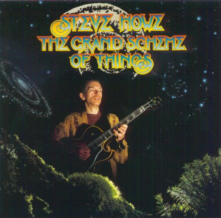 Steve Howe The Grand Scheme Of Things album cover