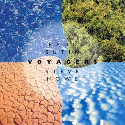 Steve Howe - Voyagers (with Paul Sutin) CD (album) cover