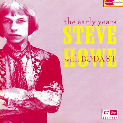Steve Howe Steve Howe: The Early Years with Bodast album cover