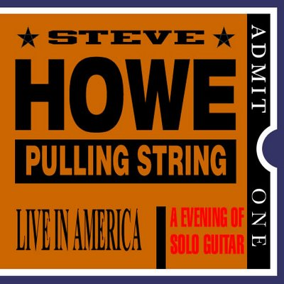 Steve Howe Pulling Strings album cover