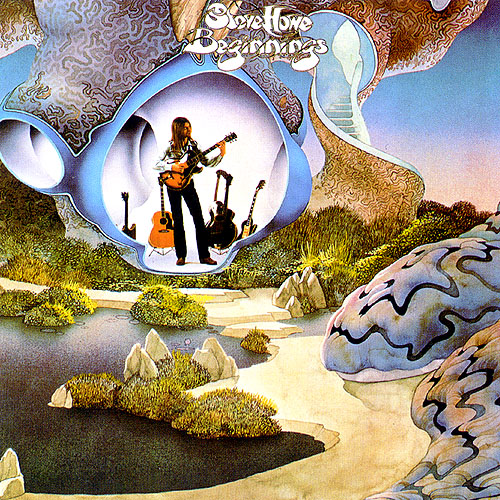 Steve Howe - Beginnings CD (album) cover