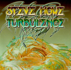 Steve Howe Turbulence album cover