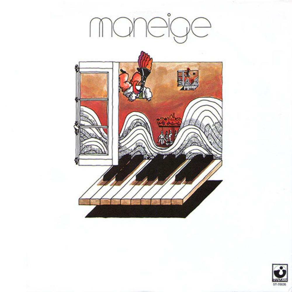 Maneige - Maneige CD (album) cover