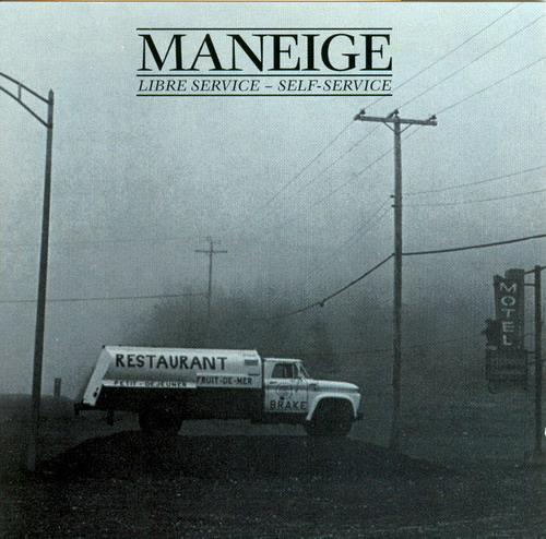 Maneige - Libre Service - Self Service CD (album) cover