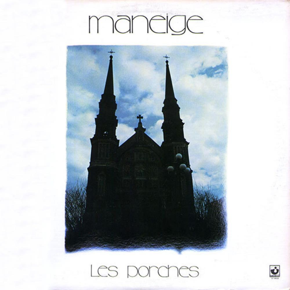 Maneige - Les Porches CD (album) cover