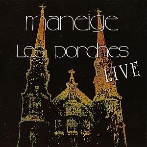 Maneige Les Porches Live album cover