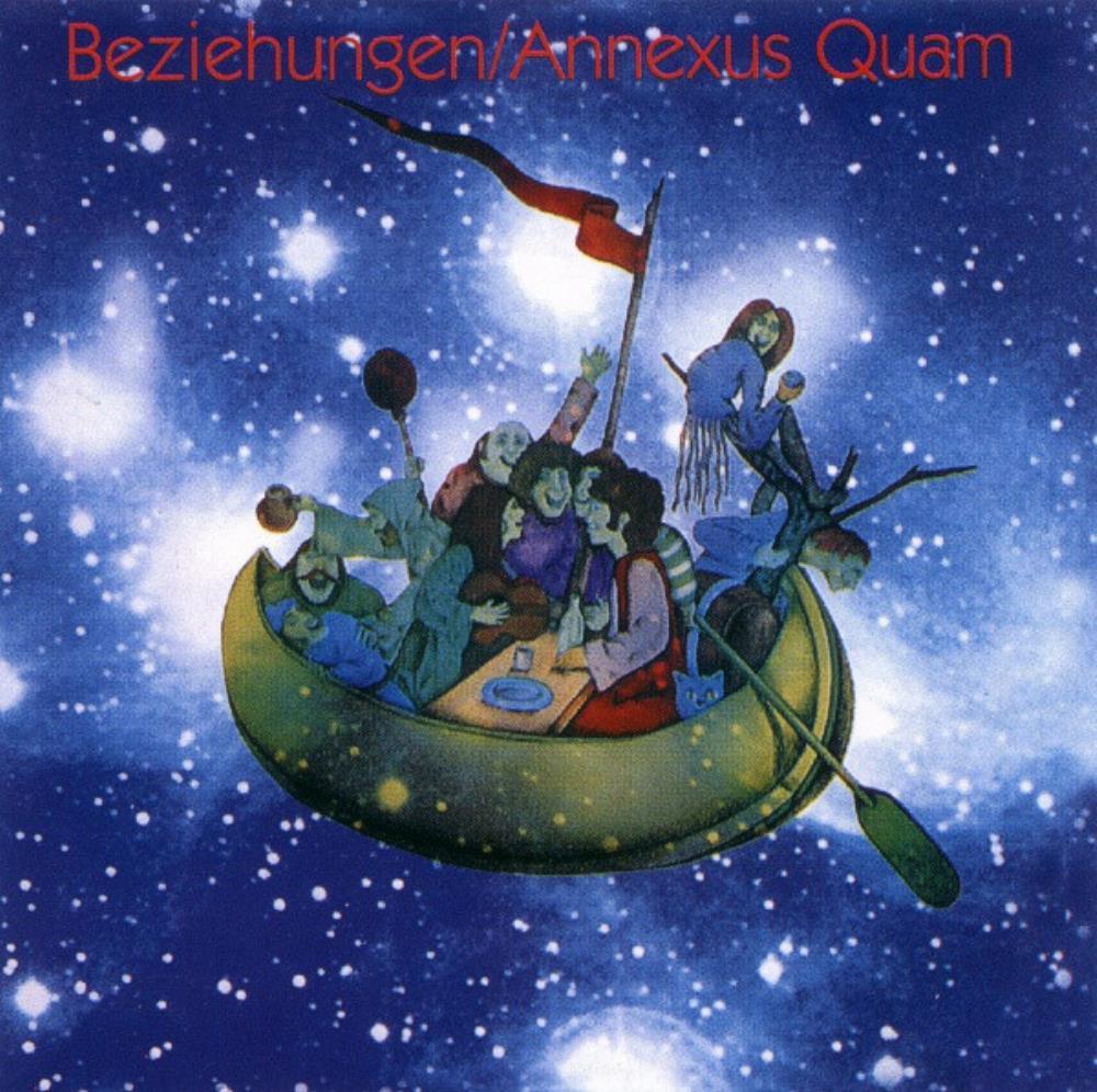 Beziehungen by ANNEXUS QUAM album cover