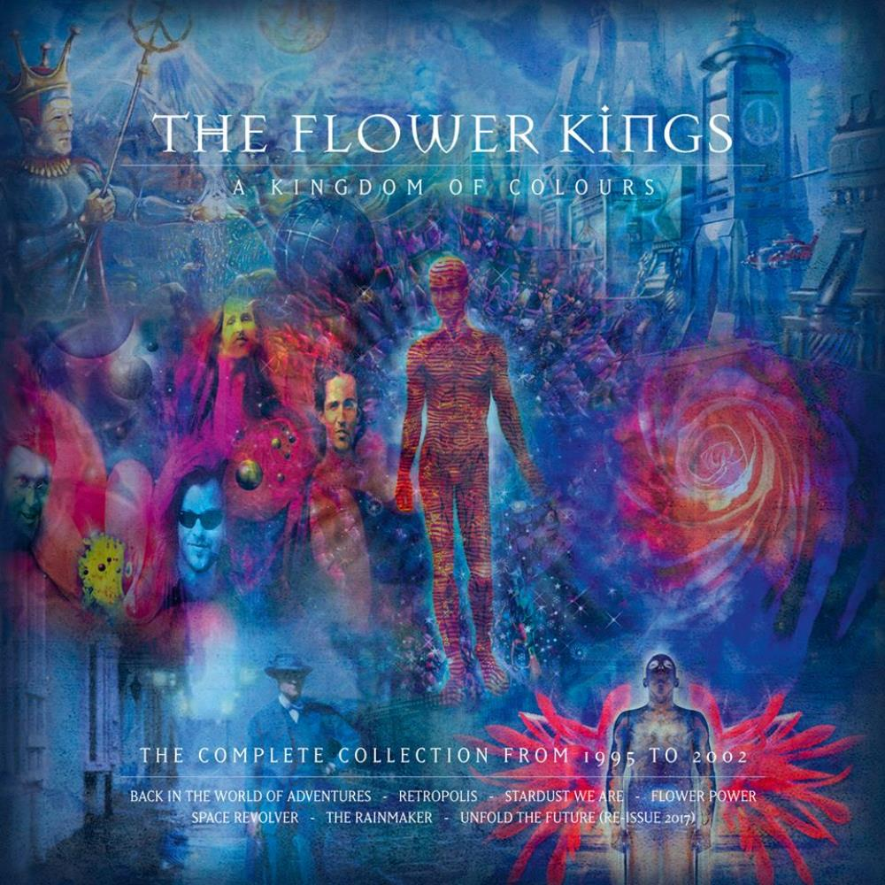 The Flower Kings A Kingdom of Colours album cover