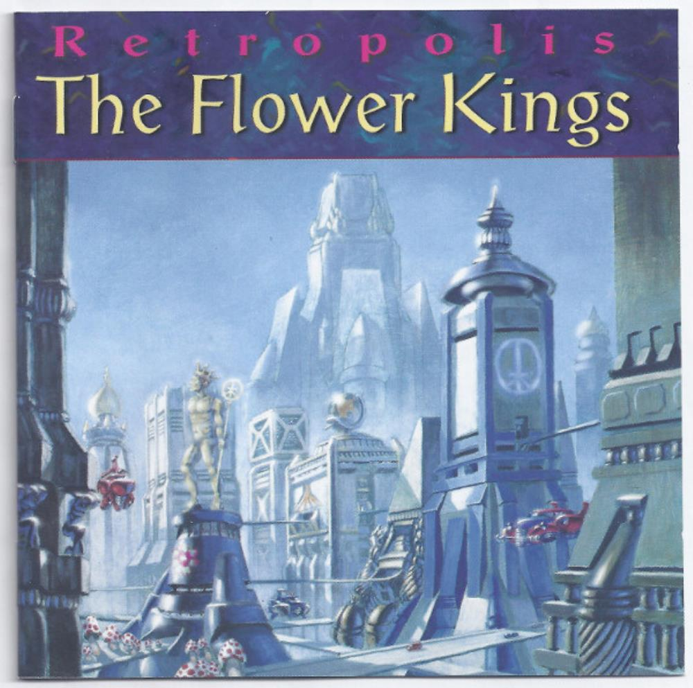 The Flower Kings - Retropolis CD (album) cover