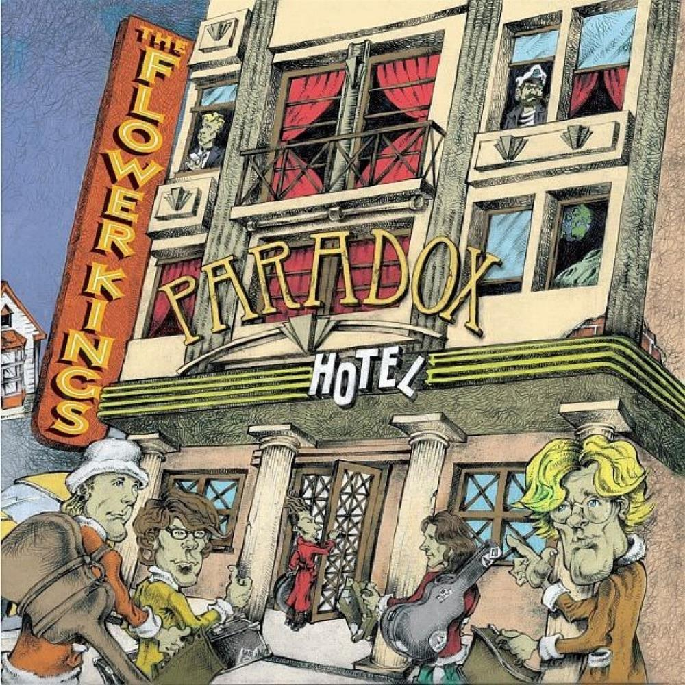 Paradox Hotel by FLOWER KINGS, THE album cover