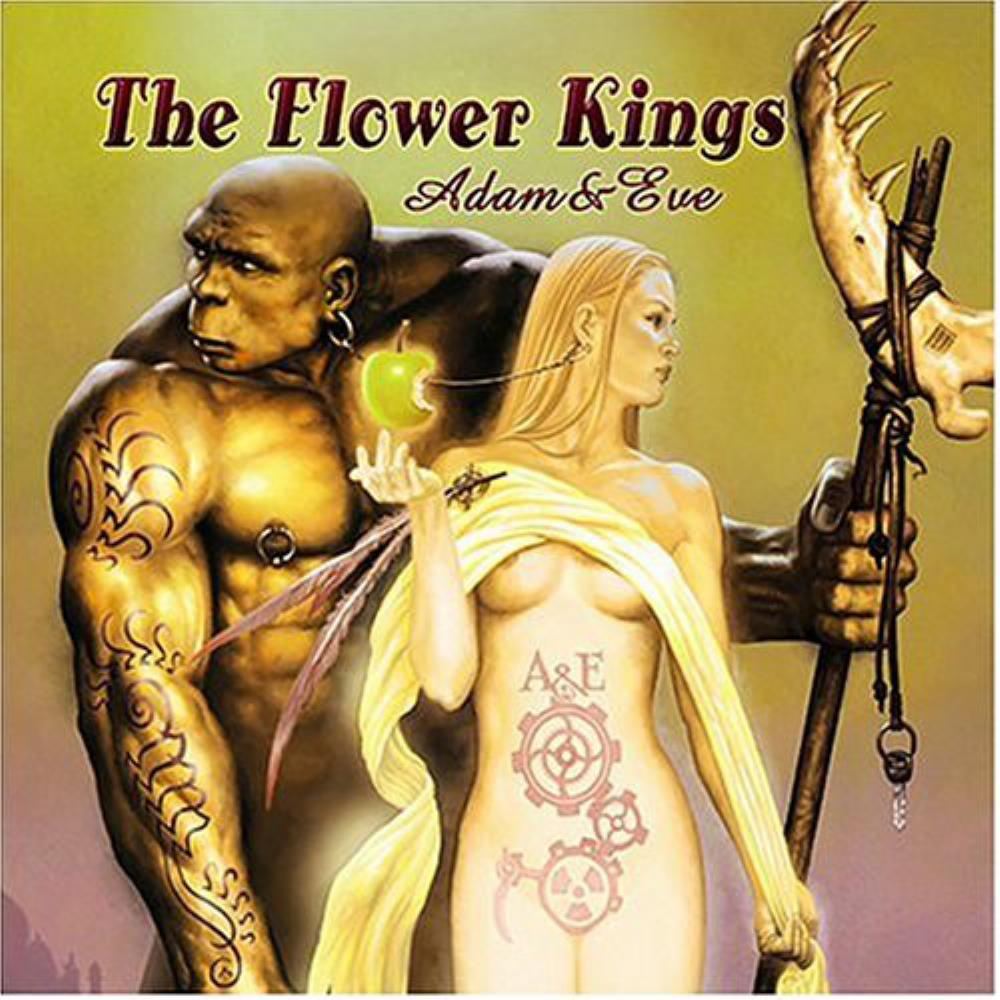 Adam & Eve by FLOWER KINGS, THE album cover