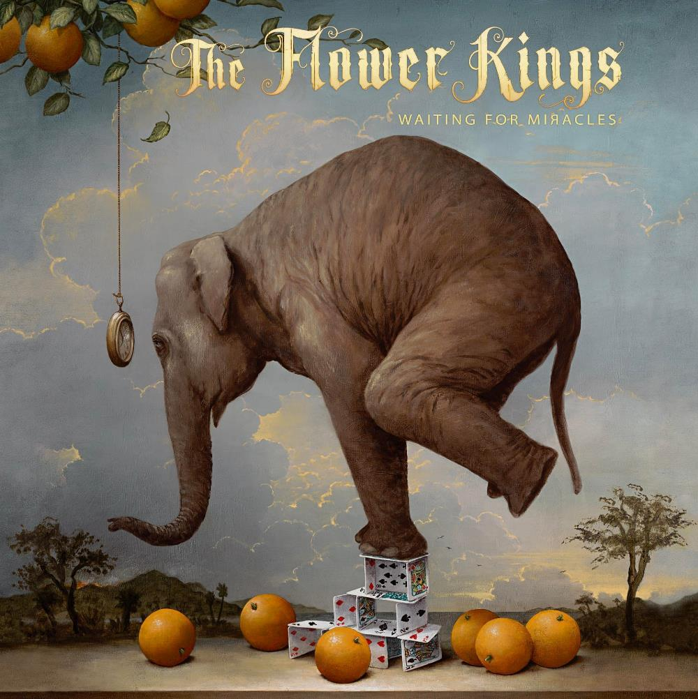 Waiting For Miracles by FLOWER KINGS, THE album cover
