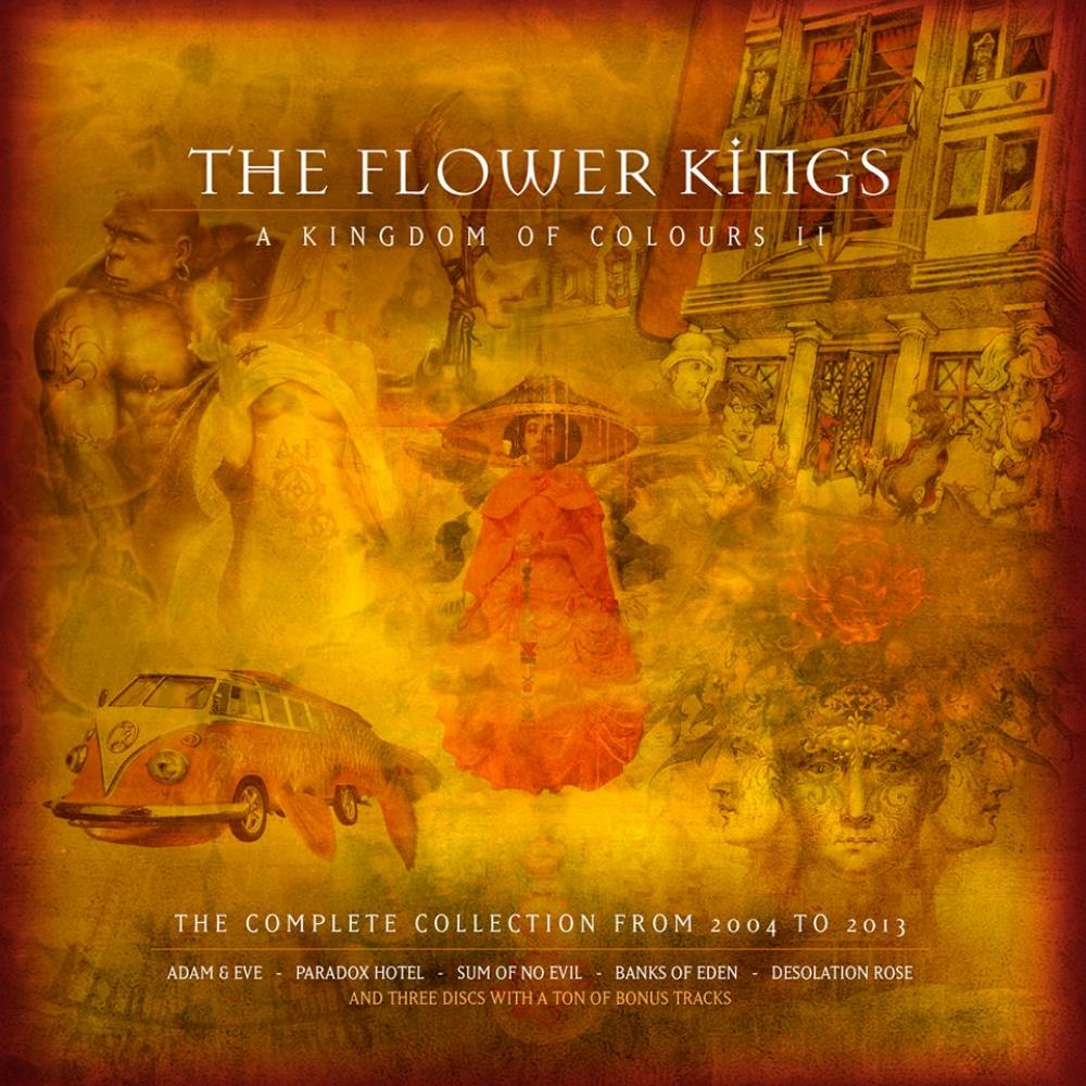The Flower Kings A Kingdom of Colours II album cover