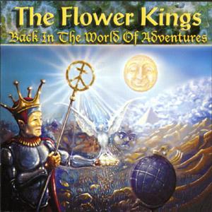 The Flower Kings - Back In The World Of Adventures CD (album) cover