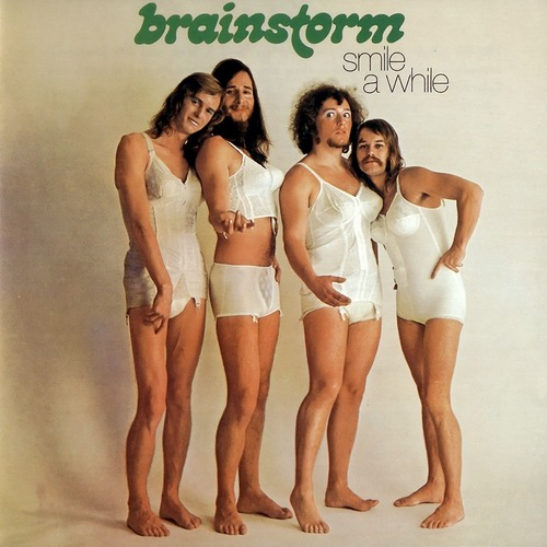 Brainstorm - Smile A While  CD (album) cover