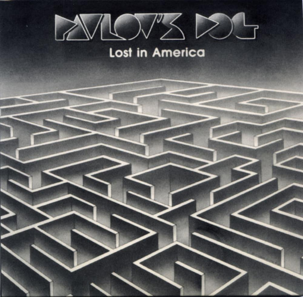 Pavlov's Dog - Lost In America CD (album) cover