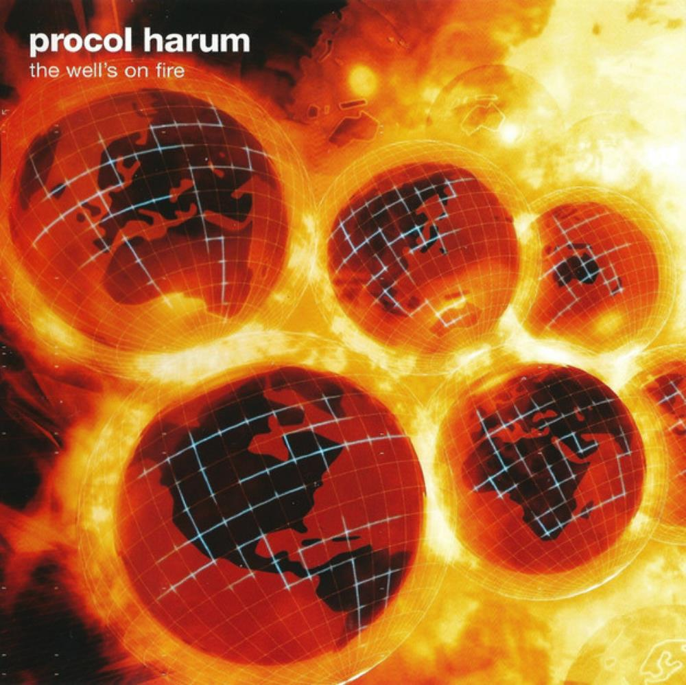 The Well's On Fire by PROCOL HARUM album cover