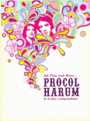 Procol Harum - All This And More... - A 4-Disc Compendium CD (album) cover