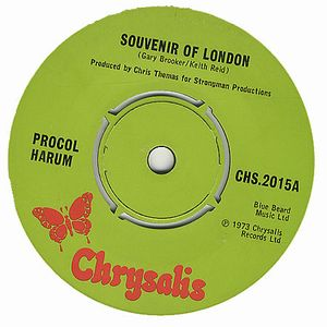 Procol Harum Souvenir Of London album cover