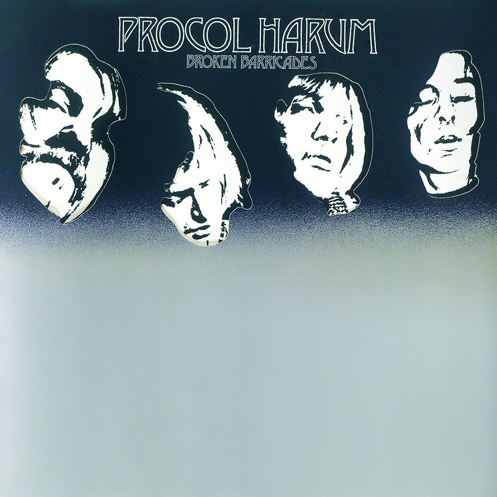 Procol Harum - Broken Barricades CD (album) cover