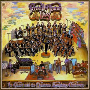 Procol Harum Live In Concert With The Edmonton Symphony Orchestra album cover