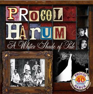 Procol Harum A Whiter Shade Of Pale - 40th Anniversary Edition album cover