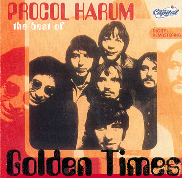 Procol Harum - Procol Harum, The Best Of (Golden Times) CD (album) cover