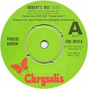 Procol Harum Robert's Box album cover