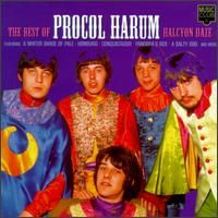 Procol Harum Halcyon Daze: The Best of Procol Harum album cover