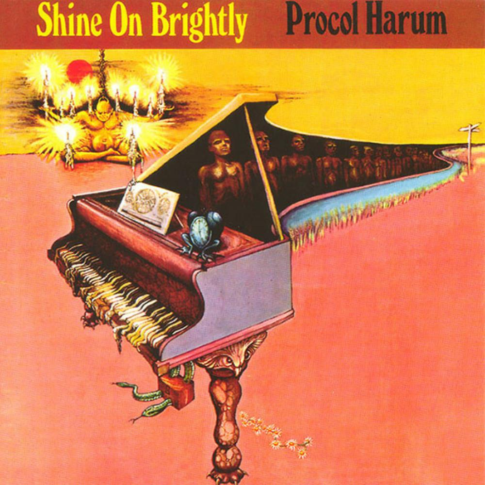 Shine On Brightly by PROCOL HARUM album cover