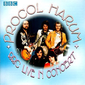 Procol Harum BBC Live in Concert album cover