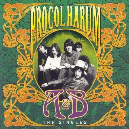 Procol Harum Singles, A's and B's album cover