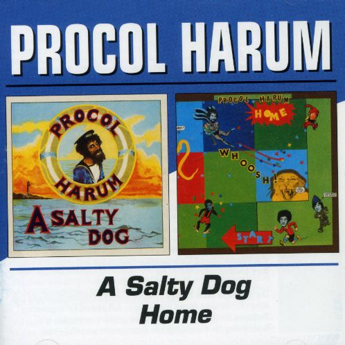 Procol Harum - A Salty Dog / Home CD (album) cover