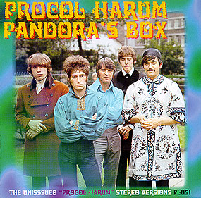 Procol Harum Pandora's Box album cover